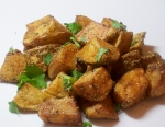 Fried Potatoes with Cumin-Coriander-Black Pepper Spice Rub