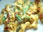 Campanelle with Asparagus and Creamed Sun dried Tomato Pesto